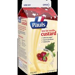 Photo of Pauls Custard Low Fat Vanilla 600g