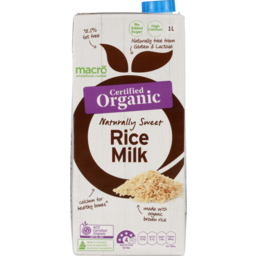 Photo of Macro Organic Rice Milk 1L