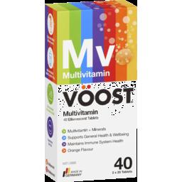 Photo of Voost Multivitamin Effervescent Tablets Orange 40 Pack