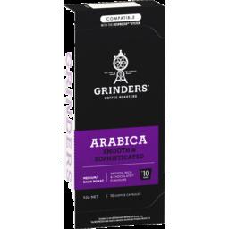 Photo of Grinders Arabica Coffee Capsules 10 Pack