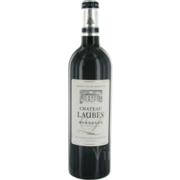 Photo of Laubes Chateau Bordeaux Rouge 1L