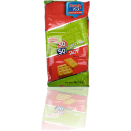 Photo of Britannia 50 -50 SWEET & SALTY 6 X 62G VALUE PACK