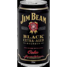Photo of Jim Beam Black Extra Aged Bourbon And Cola 375ml