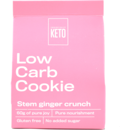 Photo of Keto Cookie Stem Ginger 60g