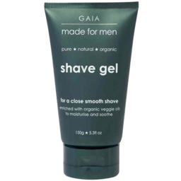 Photo of Gaia Made For Men Shave Gel 150g