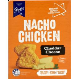 Photo of Stegg Cheese Nacho Chicken 350gm