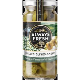 Photo of Always Fresh Olives Smoky Grilled 220g