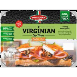 Photo of Dorsogna Virginian Leg Ham Sliced 400gm
