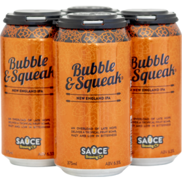 Photo of Sauce Brewing Bubble & Squeak Neipa Cans