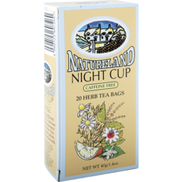 Photo of Natureland Tea Bag Night Cup Tea 40g
