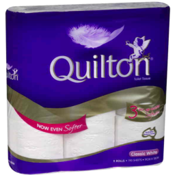 Photo of Quilton Classic White Toilet Tissue 9pk