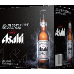 Photo of Asahi Dry 330ml Bottles 12 Pack