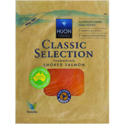 Photo of Huon Classic Selection Smoked Salmon 90gm