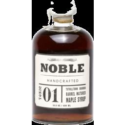 Photo of Noble Tonic 1 Bourbon Maple Syrup 450ml