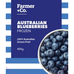 Photo of Farmer & Co Australian Frozen Blueberries 400g