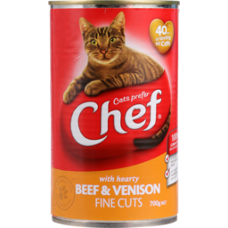 Photo of Chef Cat Food Beef & Venison 700g