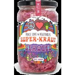 Photo of Peace Love & Vegetables Tas Seaweed Superkraut 680g