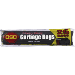 Photo of Oso Garbage Bags Roll 25pk