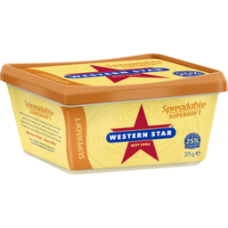 Photo of Western Star Supersoft Spreadable Butter 375g
