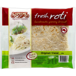 Photo of Supreme Fresh Roti Original 500gm