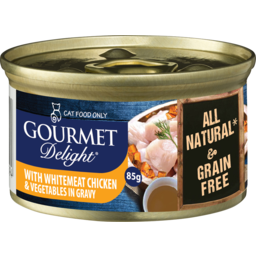 Photo of Snappy Tom Gourmet Delight Whitemeat Chicken Vg Gravy 85g