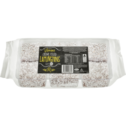 Photo of Bb Luscious Creme Filled Lamingtons 6 Pack
