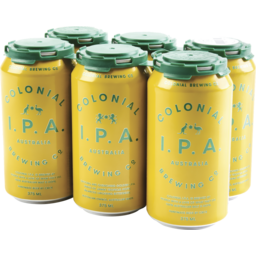 Photo of Colonial Australian IPA Cans