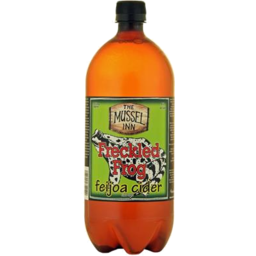Photo of Mussel Inn Freckled Frog Feijoa Cider 1.3 Ltr
