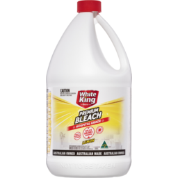 Photo of White King Premium Bleach Lemon 2.5l