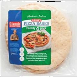 Photo of Giannis Bases Pizza Crispy 4 Pack