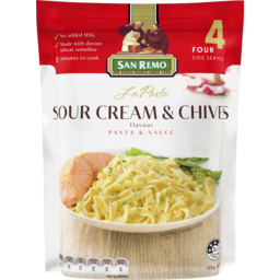 Photo of San Remo La Pasta Sour Cream & Chives 120g