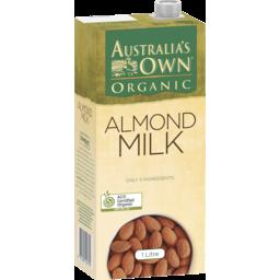 Photo of Australians Own Almond Milk Organic Almond 1l 1l