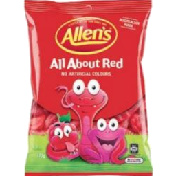 Photo of Allens All About Red 170g
