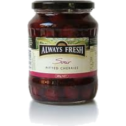 Photo of Always Fresh Sour Pitted Cherries 680g