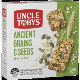Photo of Uncle Tobys Muesli Bar Ancient Grains & Seeds 175gm