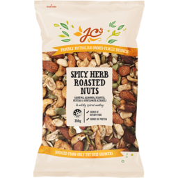 Photo of JC's Spicy Herb Roasted Nuts 350gm