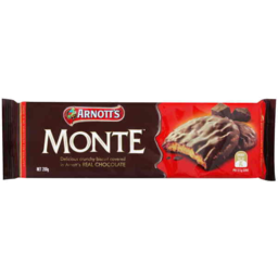 Photo of Arnott's Chocolate Biscuits Monte 200gm