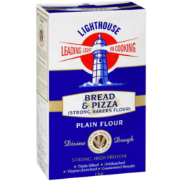 Photo of Lighthouse Bread & Pizza Plain Flour 1kg