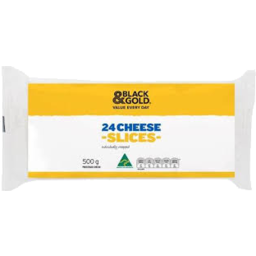 Photo of Black & Gold Cheese Slices 500g