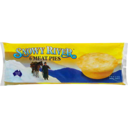 Photo of Snowy River Pie Meat 6pk 900g