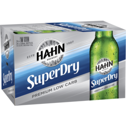 Photo of Hahn Super Dry Stubbies
