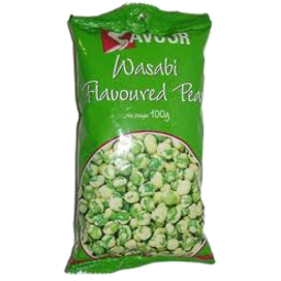 Photo of Savour Peas Wasabi Flavour 100g