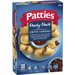 Photo of PATTIES PARTY PACK 30PK 1.25KG