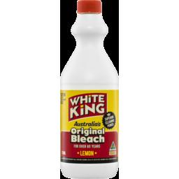 Photo of White King Premium Bleach Lemon 750ml