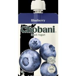 Photo of Chobani Blueberry Greek Yogurt Pouch 140g