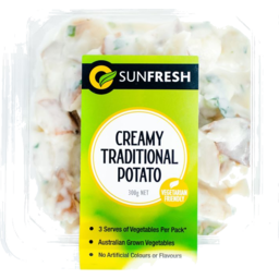 Photo of Sunfresh Salad - Creamy Traditional Potato 300gm