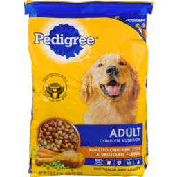 Photo of Pedigree Adult Complete Nutrition Roasted Chicken, Rice & Vegetable Flavor Dry Dog Food 17 Pounds