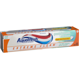 Photo of Aquafresh Pure Breath Action Toothpaste Extreme Clean Fresh Mint