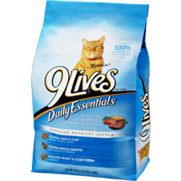 Photo of 9lives Daily Essentials Salmon, Chicken & Beef Cat Food