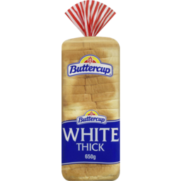 Photo of Buttercup White Thick Slice Tasty Bread 650gm